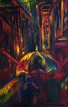 Umbrella Man by Christine Wagner