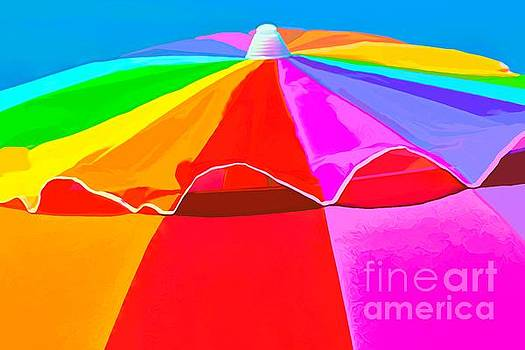 Paulette Thomas - Umbrella Watercolor