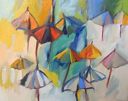 Umbrellas   by Lauren Acton