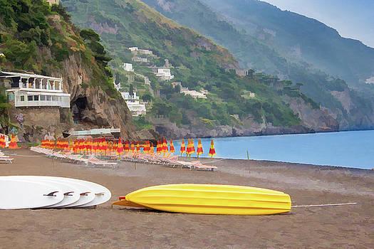Lisa Lemmons-Powers - Umbrellas On the Beach