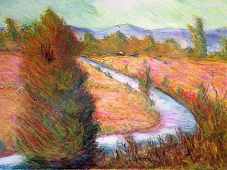 Umbrian Landscape by Tom Herrin