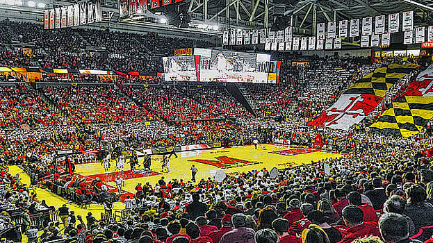 UMD Basketball by Christopher Kerby
