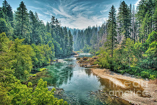 Umpqua Valley by Charles Dobbs