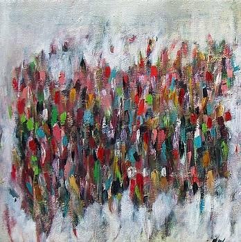 Un gachis de peinture  by Brooke Wandall