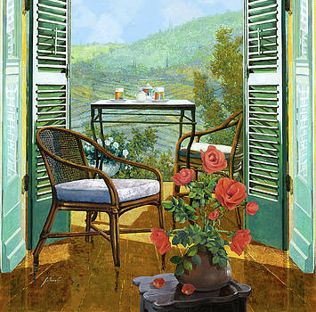 Un Vaso Di Rose by Guido Borelli