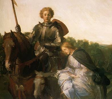 Watts George Frederick - Una And The Red Cross Knight