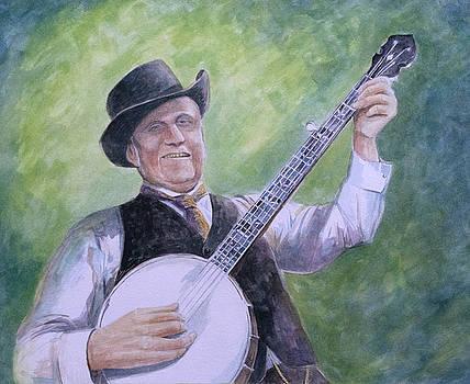 Uncle Dave Macon by Paula Blasius McHugh