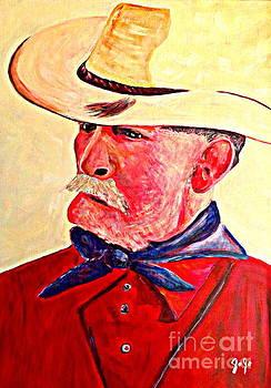 Uncle Ivan cowboy by Jodie  Scheller
