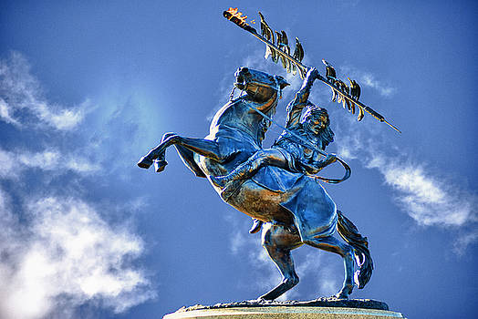 Unconquered Chief Osceola and Renegade by Frank Feliciano