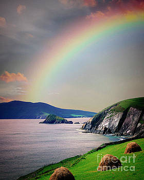 Under a Rainbow by Edmund Nagele