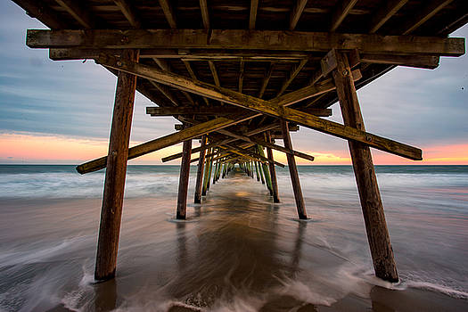 Under Bogue Pier by Nick Noble