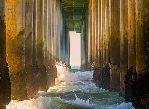 Under Huntington Beach Pier 7 by Stephen Thompson