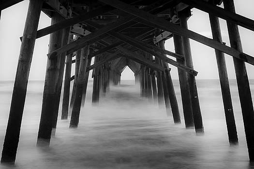 Under Ocean Crest Pier by Nick Noble