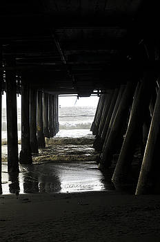 Clayton Bruster - Under Santa Monica Pier