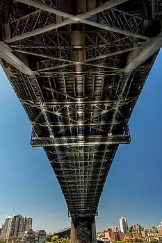Under Sydney Harbor Bridge by Kenny Thomas