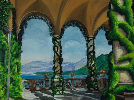 Charlotte Blanchard - Under The Arches At Villa Balvianella