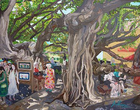 Under The Banyon Tree by Joseph Demaree