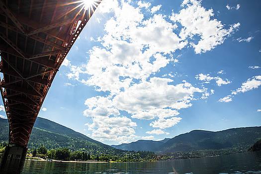 Under the Bridge in Nelson BC by Sam Egan