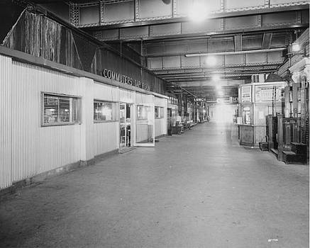 Chicago and North Western Historical Society - Under the Chicago Passenger Terminal - 1961