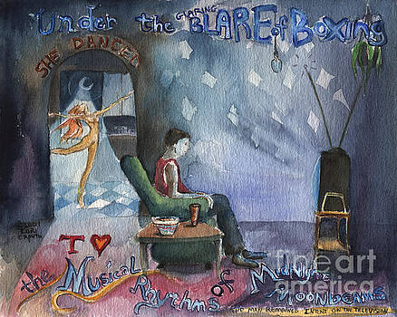 Under the Glaring Blare by Cori Caputo