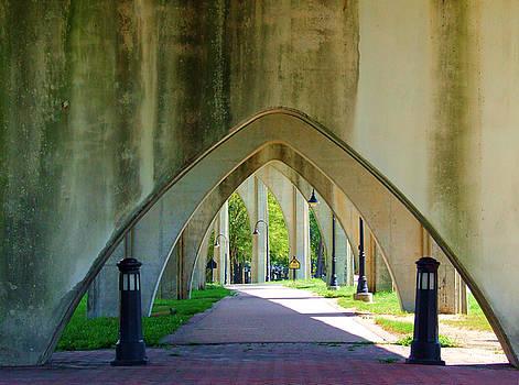 Under The Main Street Bridge - Color - Conway, South Carolina by Joey OConnor