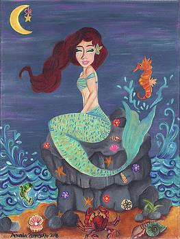 Under the Merlight Sea by Amanda Johnson