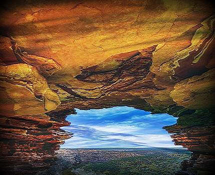 Under the Mesa by Digital Art Cafe