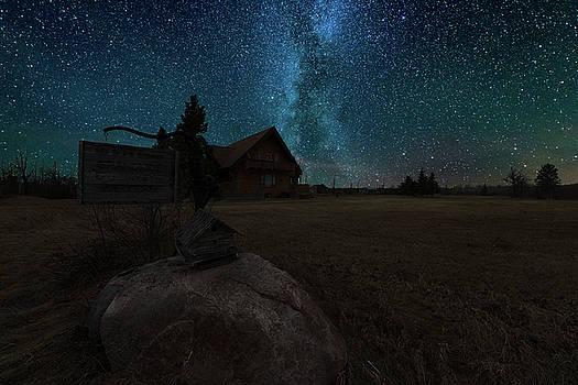 Under The Milky Way by Nebojsa Novakovic
