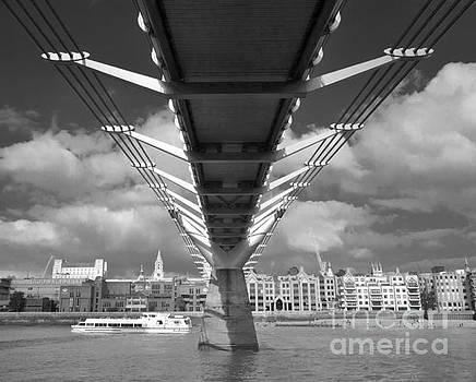 Under the Millenium Bridge by C Lythgo