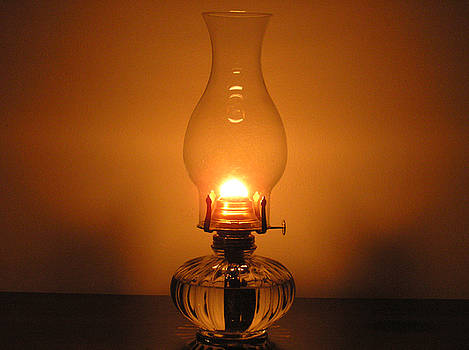 Under the Oil Lamp Light by Richard Mitchell