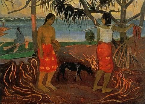 Gauguin - Under The Pandanus