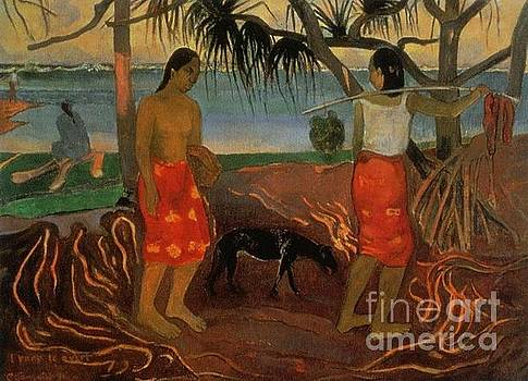Gauguin - Under The Pandnus