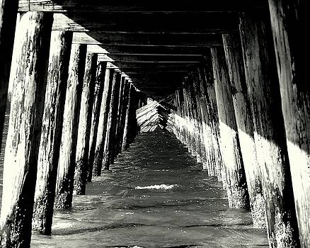 Under The Pier by Scott Gould