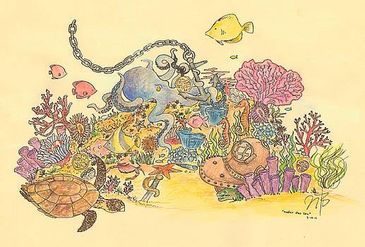 Under The Sea by Jennifer Kelly
