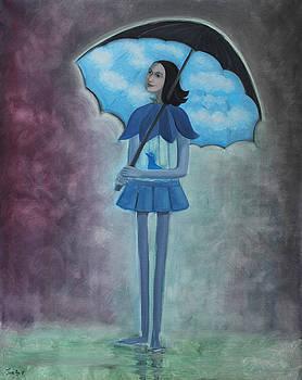 Under the Umbrella the Sky is Always Blue - Plume quote by Tone Aanderaa