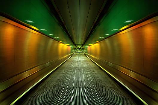 Svetlana Sewell - Underground Heathrow