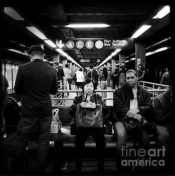 Underground Manhattan - Subways of New York by Miriam Danar
