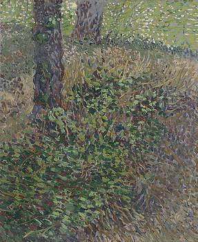 Undergrowth Paris  July 1887 Vincent van Gogh 1853  1890 by Artistic Panda