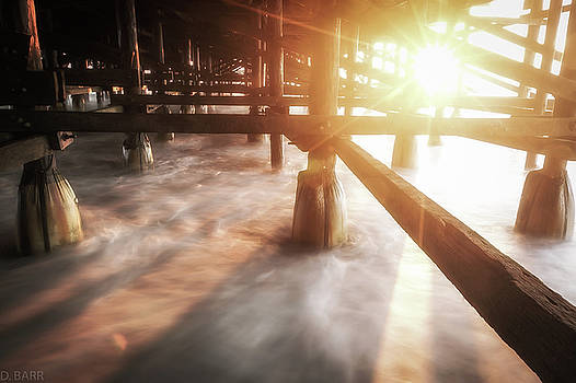Underneath the Pier by Doug Barr