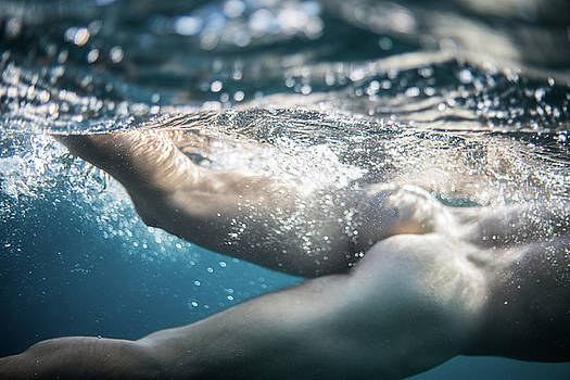 Underwater Ass by Gemma Silvestre
