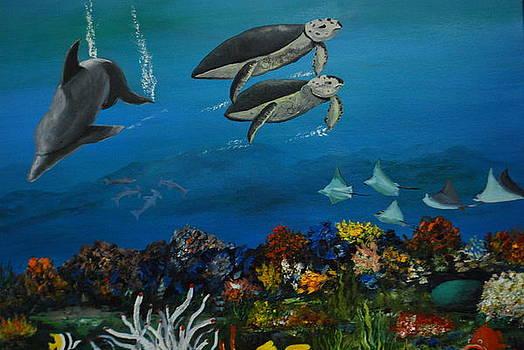 Underwater by Brian Hustead