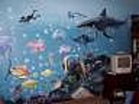 Underwater Mural by Merideth Van Every
