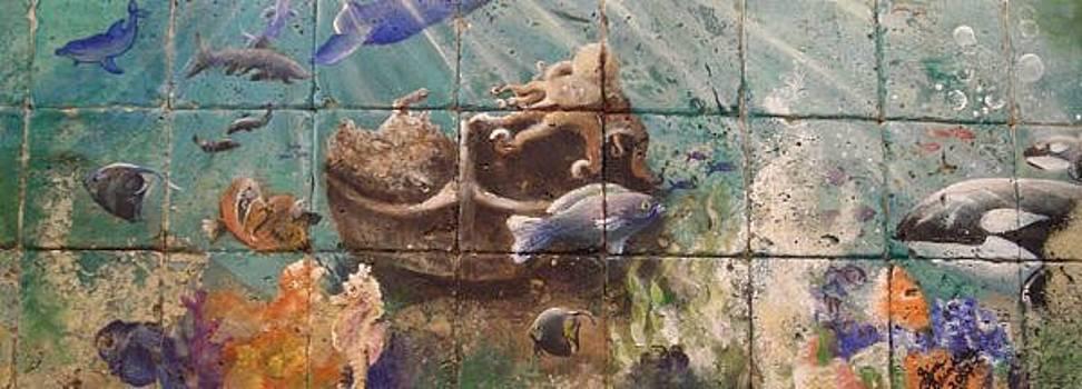 Underwater Ocean by Gina Brinkley