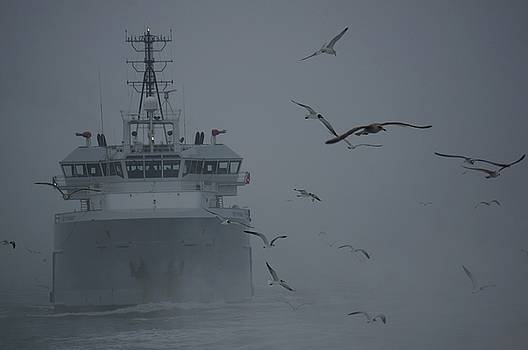 Underway on a Foggy Day by Jill Friedman