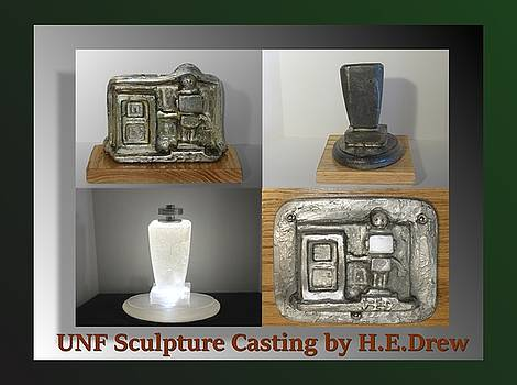 UNF Sculpture Casting by Drew