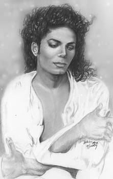 Unfinished Art - Michael Jackson by Carliss Mora