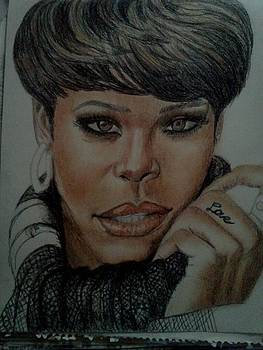 unfinished Rihanna by Thomasina Marks
