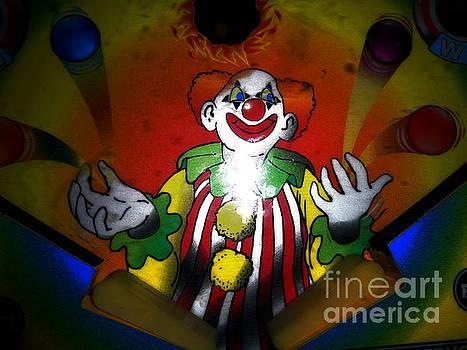 Unfriendly Clown by Chuck Taylor
