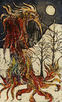 Unicorn and Phoenix by Carol  Law Conklin