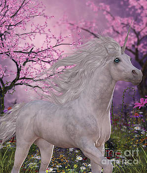 Corey Ford - Unicorn Cherry Blossom Glen